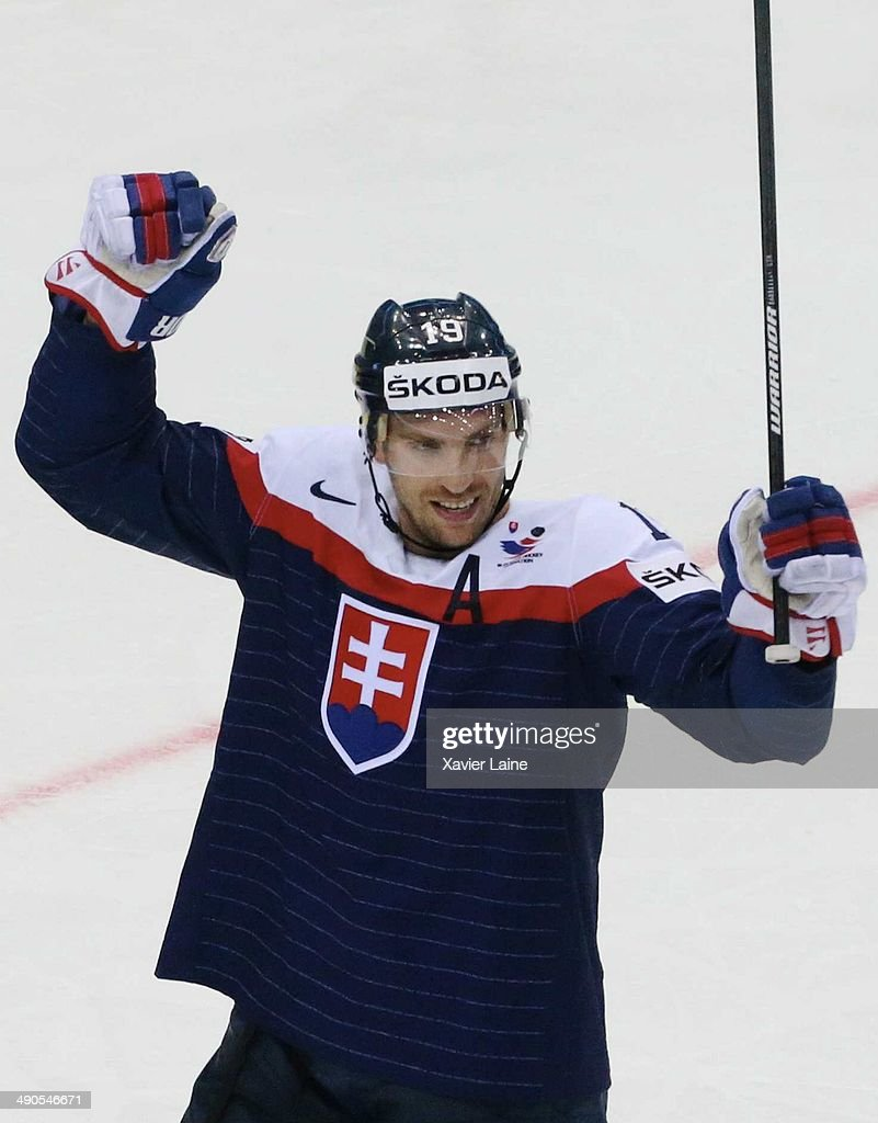 Slovakia v Norway - 2014 IIHF World Championship : News Photo