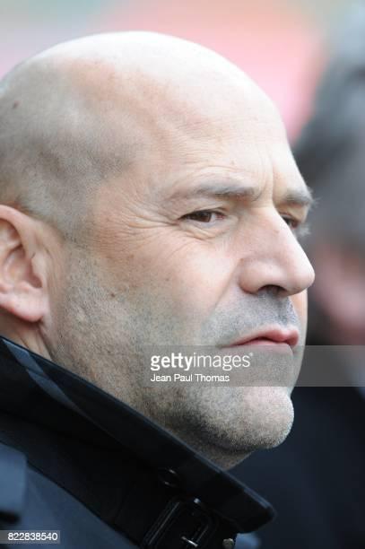 Michel MOULIN Saint Etienne / Le Mans 31eme journee de Ligue 1 Stade Geoffroy Guichard