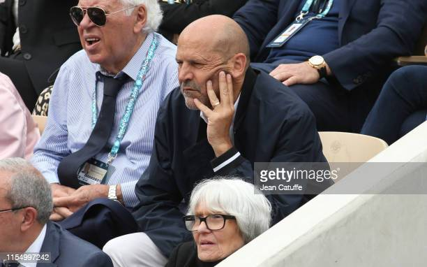 Michel Moulin attends the men's final during day 15 of the 2019 French Open at Roland Garros stadium on June 9 2019 in Paris France