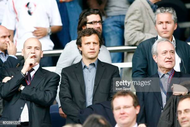 Michel MOULIN / Fabien GALTHIE / Jean TIBERI PSG / Auxerre 35eme journee de Ligue 1