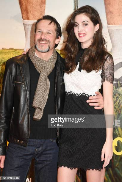 Michel Nabokov and Claire Chust attend Problemos Paris Premiere At UGC Cine Cite Les Halles on May 9 2017 in Paris France