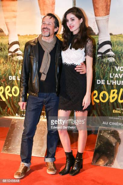 Michel Nabokov and Claire Chust during the Problemos Paris Premiere photocall at UGC Cine Cite des Halles on May 9 2017 in Paris France