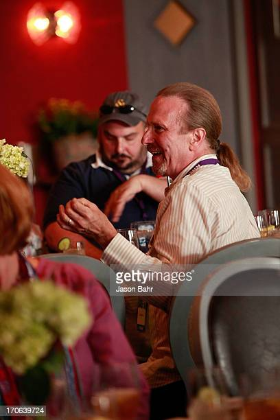 Michel Nischan poses questions during the Pure Leaf Science of Pairings lunch at the FOOD WINE Classic on June 15 2013 in Aspen Colorado