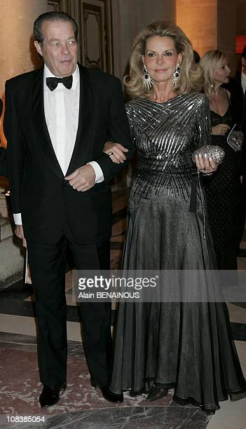 Michel of Orleans and Isabelle of Bragance in Versailles France on November 28 2005