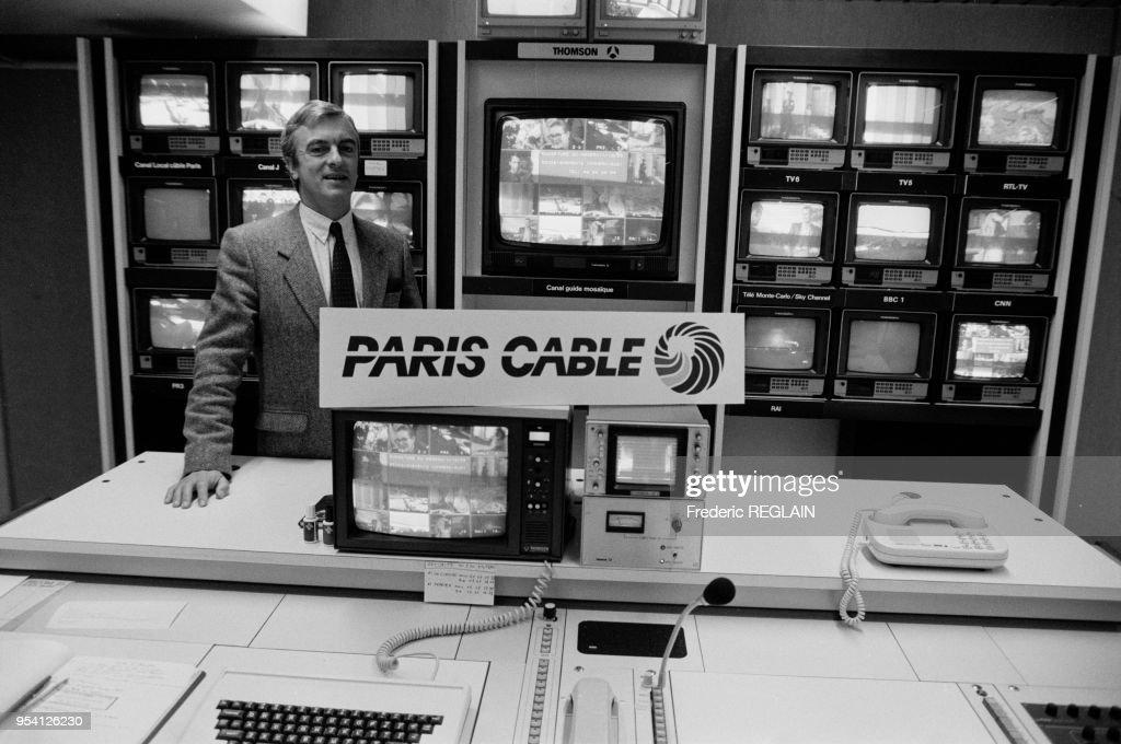 Lancement de Paris-Cables en 1987 : News Photo