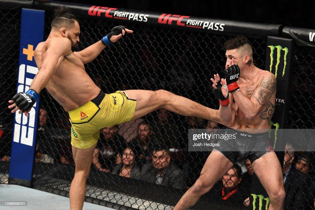 UFC Fight Night: Sanchez v Pereira : News Photo