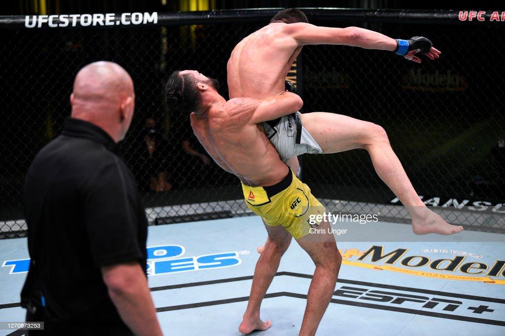 UFC Fight Night: Pereira v Imadaev : News Photo