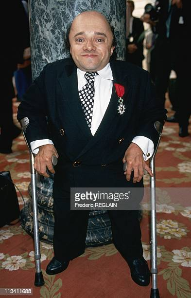 Michel Petrucciani The Receiver Of Legion Of Honor On June 22nd, 1994