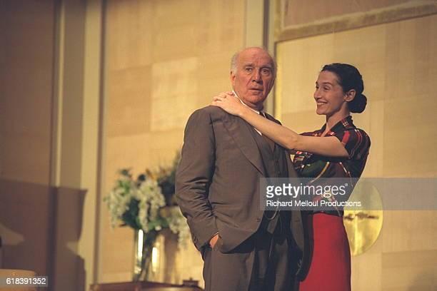 Michel Piccoli and Anne Brochet