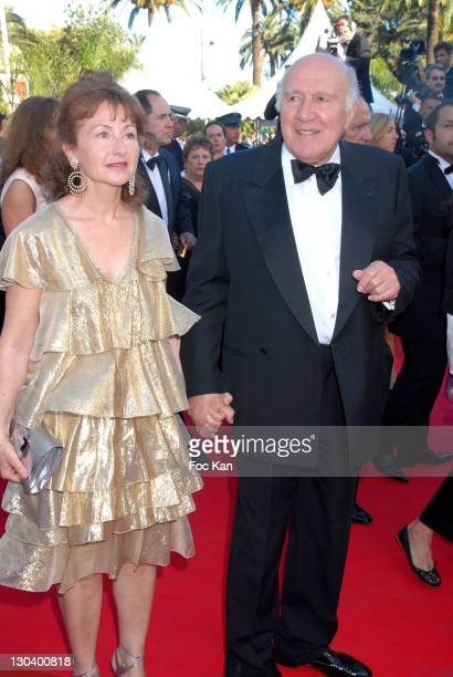 "Michel Piccoli and Ludivine Clerc during 2007 Cannes Film Festival - ""Zodiac"" Premiere at Palais de Festival in Cannes, France."