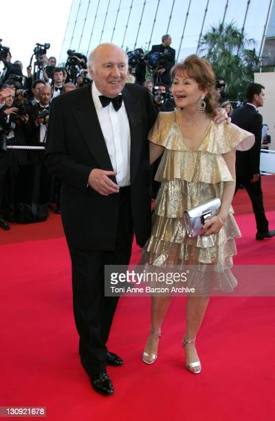 Michel Piccoli and Ludivine Clerc during 2007 Cannes Film Festival Zodiac Premiere at Palais de Festival in Cannes France