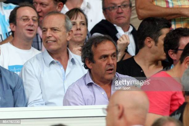 Michel PLATINI Marseille / Caen 1ere journee de Ligue 1