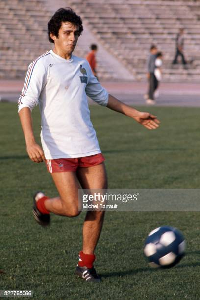 Michel PLATINI Bulgarie / France Qualification pour la Coupe du Monde 1978 Sofia Bulgarie
