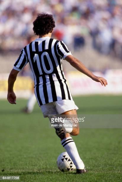 Michel PLATINI Juventus Turin / Naples Serie A Photo Alain de Martignac / Icon Sport