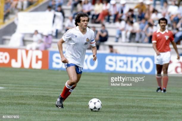 Michel PLATINI Angleterre / France Coupe du Monde 1982 Espagne Stade Jose Zorrilla Valladolid