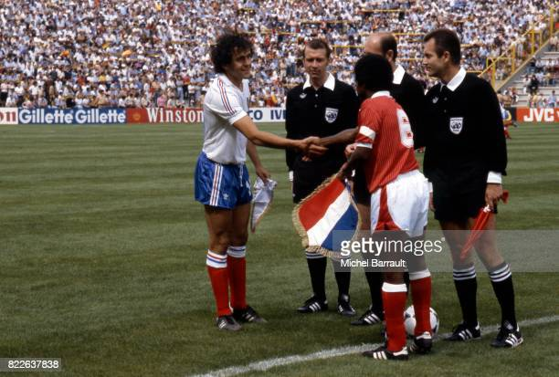 Michel PLATINI Koweit / France Coupe du Monde 1982 Stade Jose Zorrilla Valladolid
