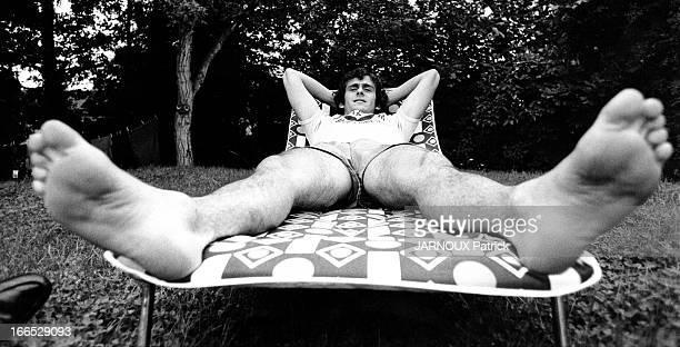 Michel Platini French Soccer Star