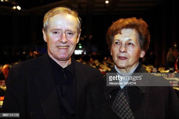 Michel Platini's fathers Aldo and Anna Platini