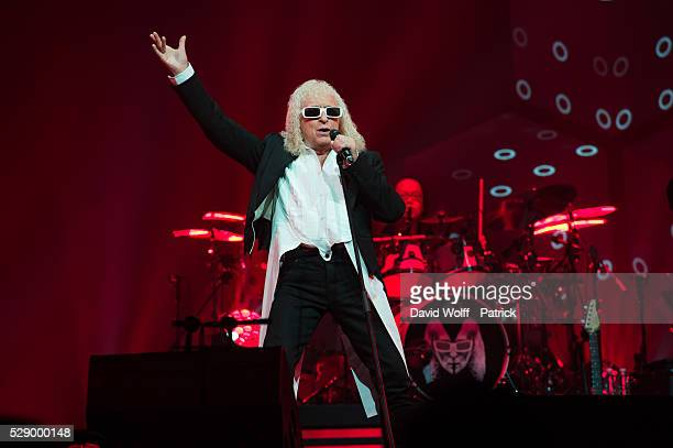 Michel Polnareff performs at AccorHotels Arena on May 7, 2016 in Paris, France.