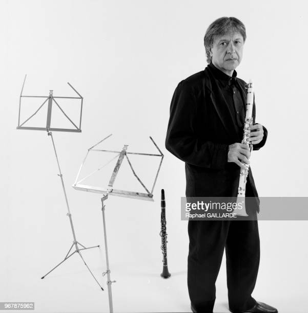 Michel Portal compositeur et musicien le 16 juin 1990 à Paris France