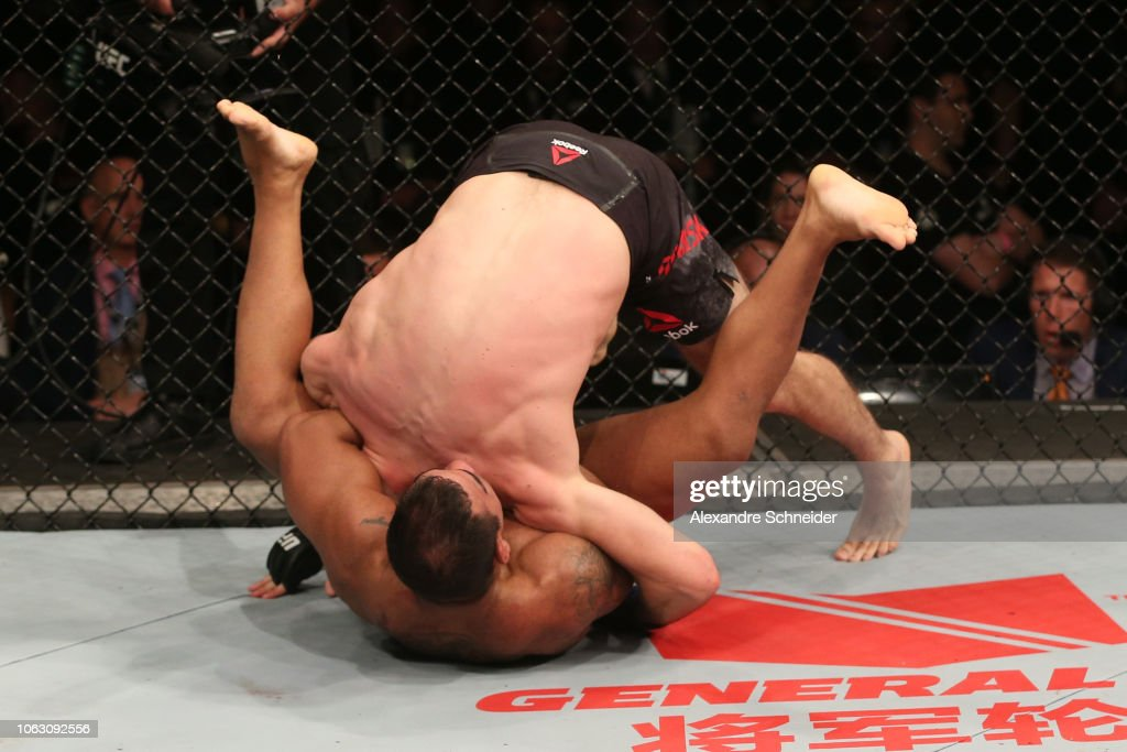 UFC Fight Night: Prazeres v Fabinski : News Photo