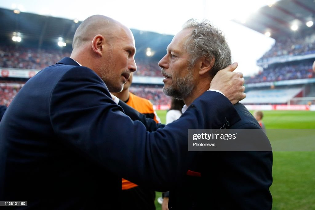 BEL: Standard Liege v KRC Genk - Jupiler Pro League: Play-offs