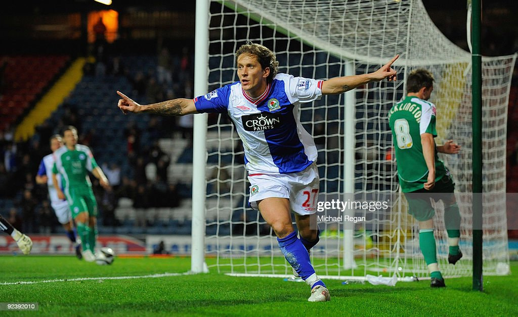 Blackburn Rovers v Peterborough United - Carling Cup 4th Round : News Photo