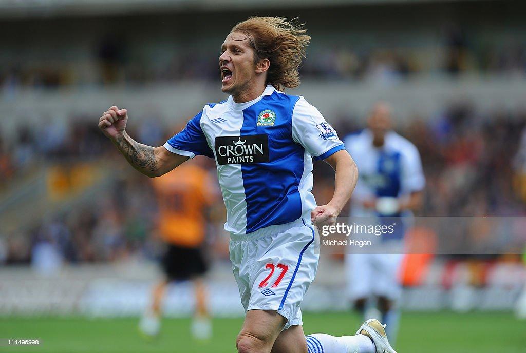 Wolverhampton Wanderers v Blackburn Rovers - Premier League : News Photo