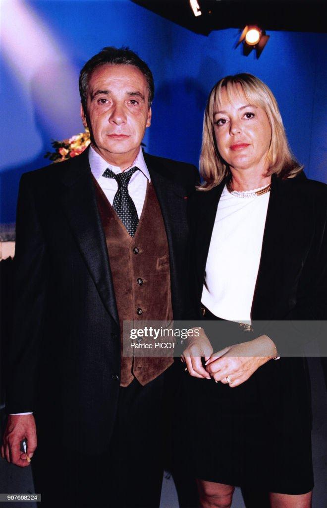 Michel Sardou et sa femme Babette lors de l'anniversaire des 40 ans... News Photo - Getty Images