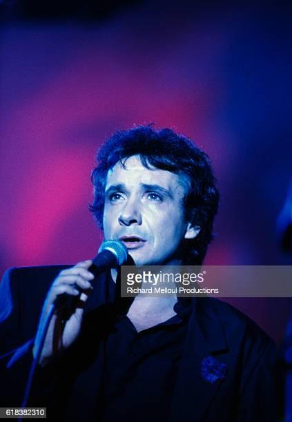 Michel Sardou Performing in Brussels