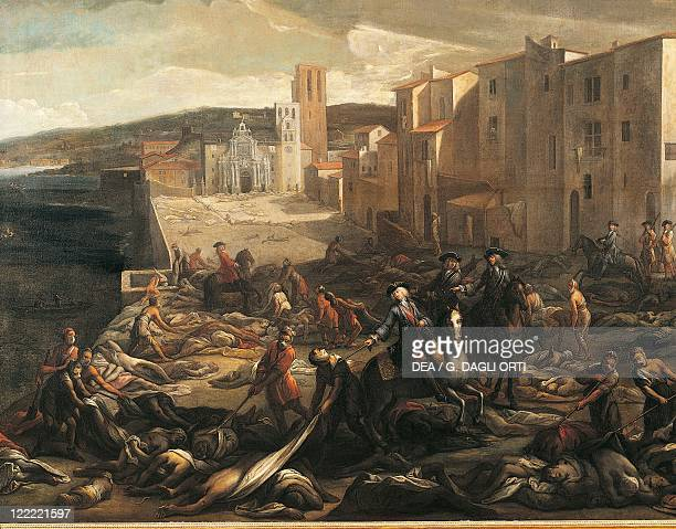 Michel Serre - The plague in Marseilles in 1721.