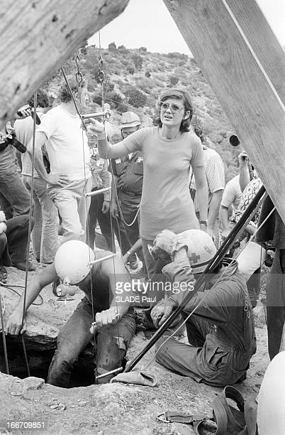 Michel Siffre Caver Spent 205 Days In A Cave In Texas Sa Femme Nathalie