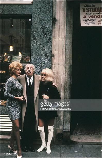 Michel Simon in Paris France in 1967