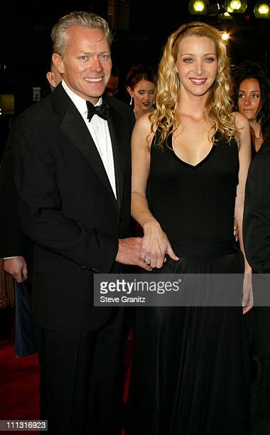 Michel Stern and Lisa Kudrow during The 29th Annual People's Choice Awards Arrivals at Pasadena Civic Auditorium in Pasadena California United States