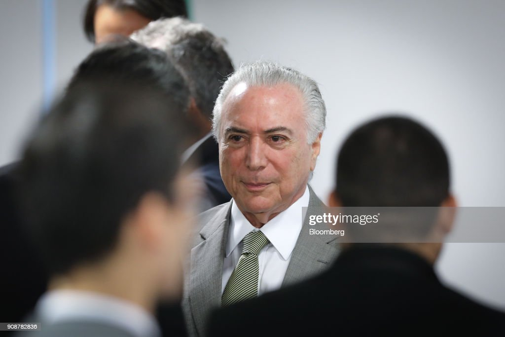 President Temer Announces Funds For Federal District Subway Expansion Before Leaving For Davos