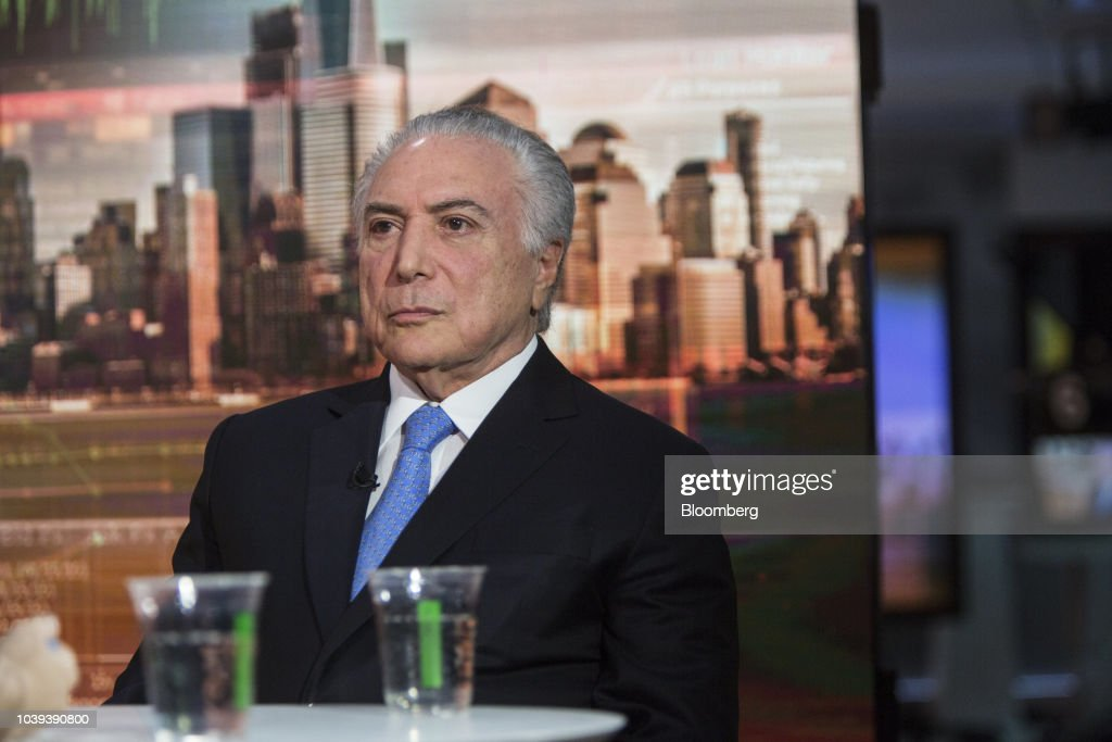 Brazil's President Michel Temer Interview