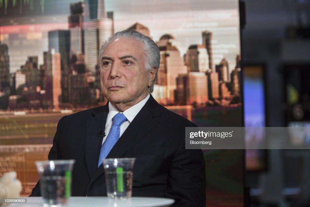 Brazil's President Michel Temer Interview