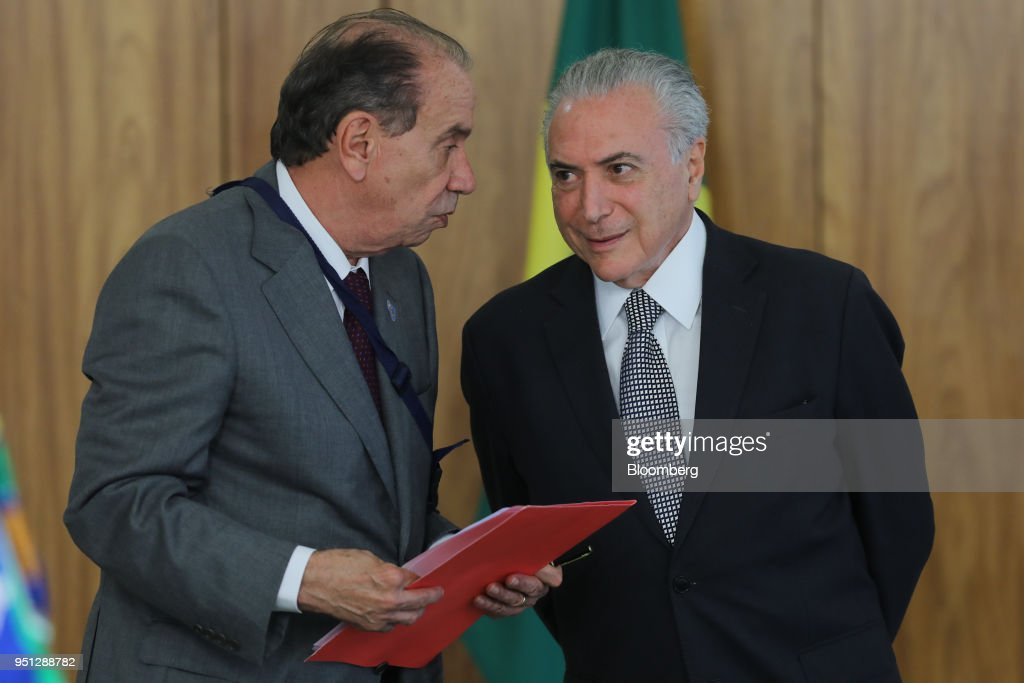 President Michel Temer Meets With New Ambassadors To Brazil