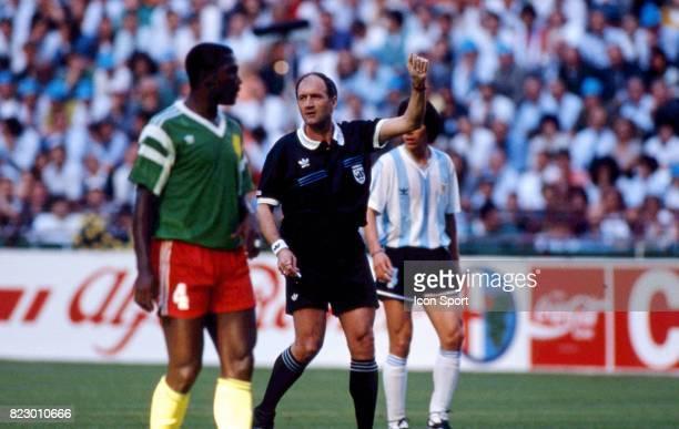 Michel VAUTROT Match d'ouverture Cameroun / Argentine Coupe du Monde 1990