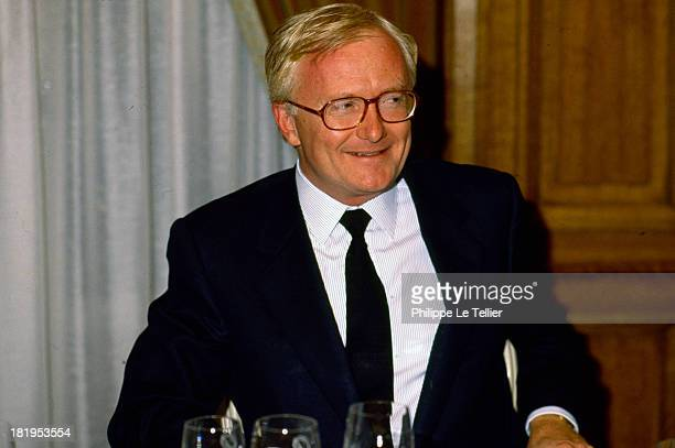 Michel Vauzelle spokesman for Francois Mitterrand President of the Committee on Foreign Affairs Paris France 1990 Michel Vauzelle le porte parole de...