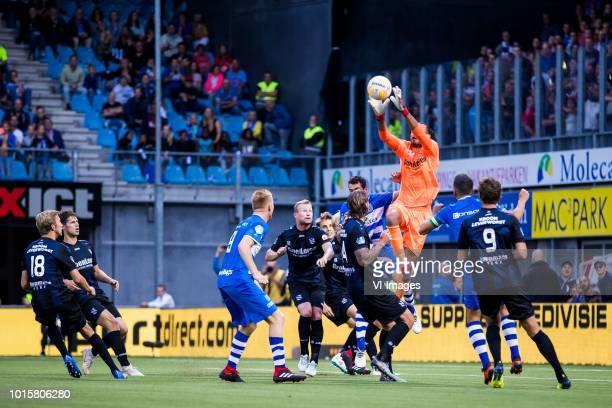 Michel Vlap of sc Heerenveen Kik Pierie of sc Heerenveen Mike van Duinen of PEC Zwolle Doke Schmidt of sc Heerenveen Daniel Hoegh of sc Heerenveen...