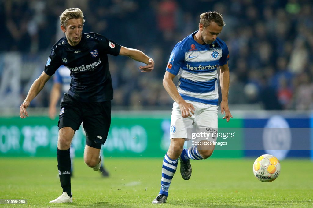 Michel Vlap Of SC Heerenveen, Robert Klaasen Of De