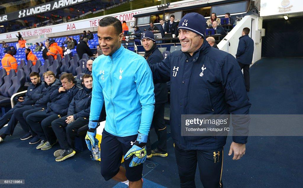 Tottenham Hotspur v Aston Villa - The Emirates FA Cup Third Round : News Photo