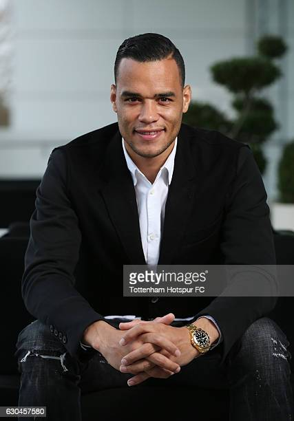 Michel Vorm signs new contract with Tottenham Hotspur at Tottenham Hotspur Training Centre on December 23 2016 in Enfield England