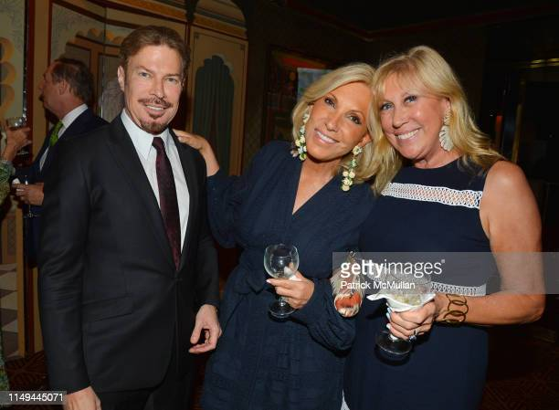 Michel Witmer Alease Fisher and Laurette Kittle attend Deborah Goodrich Royce's Finding Mrs Ford Book Launch at Doubles on June 11 2019 in New York...