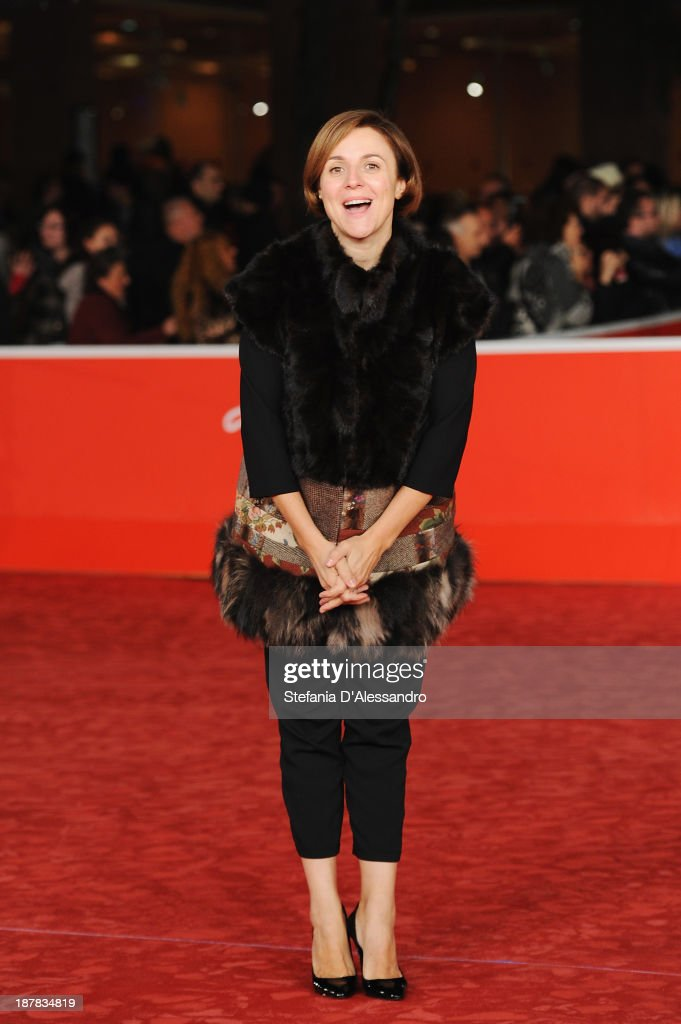 Michela Cescon attends 'Racconti D'Amore' Premiere during The 8th Rome Film Festival on November 12, 2013 in Rome, Italy.