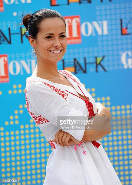 Michela Coppa attends the 2011 Giffoni Experience on July 19, 2011 in Giffoni Valle Piana, Italy.