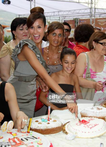 Michela Coppa attends the celebrations for the 40th editions of Giffoni Experience 2010 on July 18 2010 in Giffoni Valle Piana Italy
