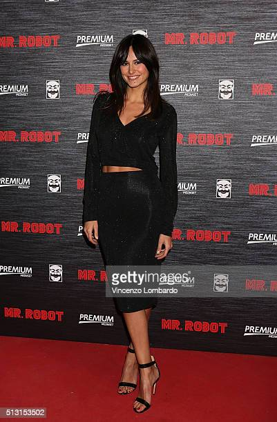 Michela Coppa attends the 'Mr Robot' Tv Show Photocall on February 29 2016 in Milan Italy