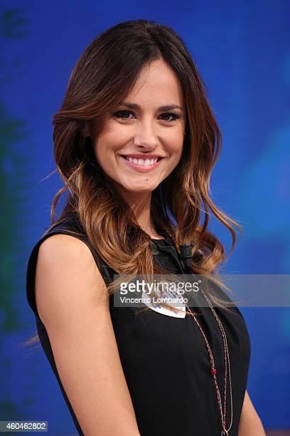 Michela Coppa attends the 'Quelli Che Il Calcio' Tv Show - on December 14, 2014 in Milan, Italy.